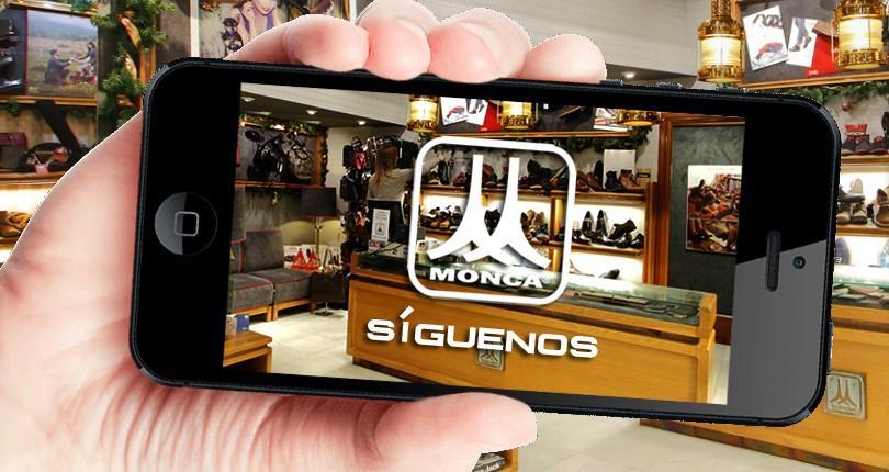 Zapatos y complementos Monca en las redes sociales