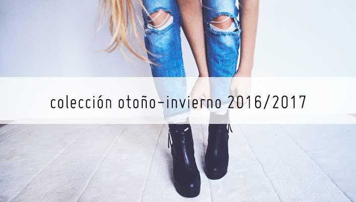Nueva colección de calzado otoño-invierno 2016/2017